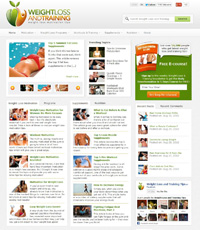 advertising on weight loss tips training