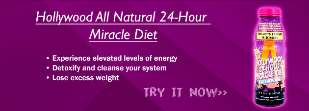 buy hollywood all natural 24hour miracle diet