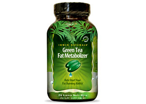 Irwin Naturals Green Tea Fat Metabolizer Review