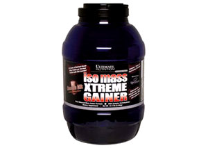 ultimate nutrition iso max xtreme gainer