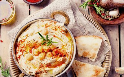 6 Pack Abs Foods: 5 Healthy Hummus Recipes