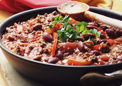 Weekend Clean Eating: Healthy Crock Pot Chili Recipe