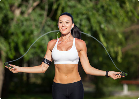Jump Rope Interval Training Routine