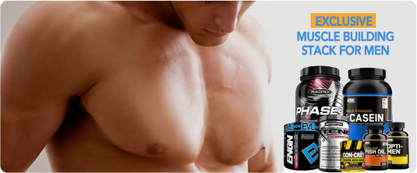 Muscle Building Stack for Men