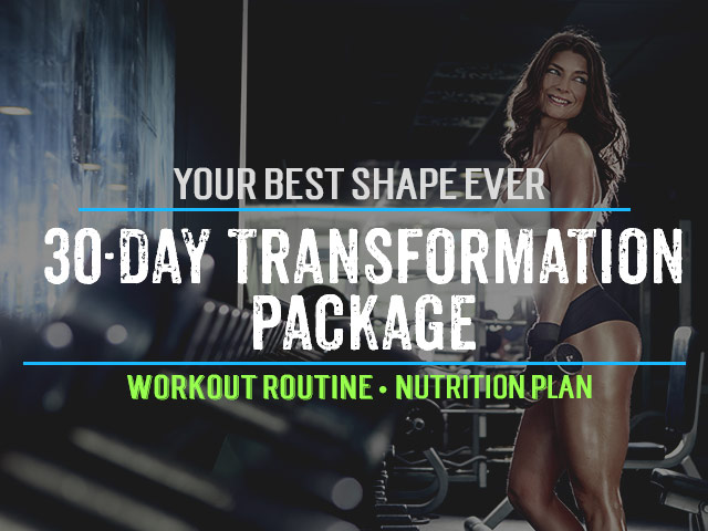30 Day Transformation Package