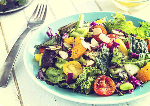 6 Pack Abs Foods – Top Healthy Kale Salad Recipes