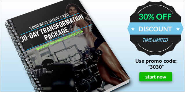 30 day Transformation Promo